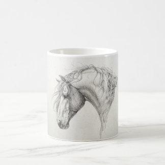 Andalusian Horse Classic White Coffee Mug