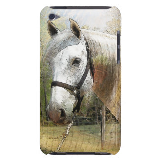 ANDALUSIAN HORSE PORTRAIT iPod Touch Case-Mate Cas Barely There iPod Cases