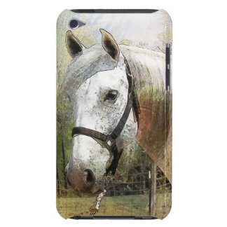 ANDALUSIAN HORSE PORTRAIT Touch  Barely There iPod Covers