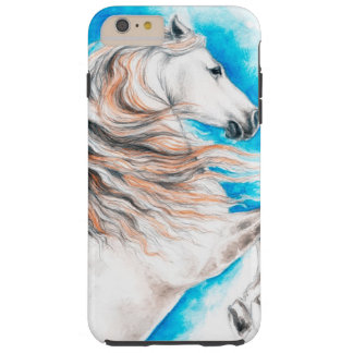 Andalusian  Horse Rearing Tough iPhone 6 Plus Case