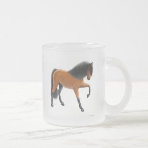 Andalusian Spanish Horse Glass Mug
