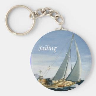 Andante Sailing key chain