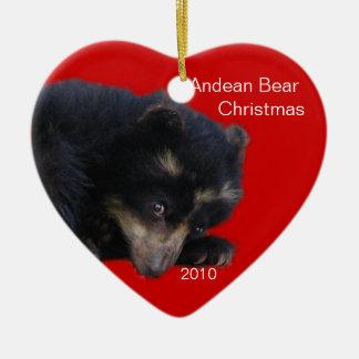 Andean Bear Christmas! Christmas Ornament