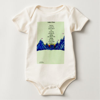 andean flutes baby bodysuit