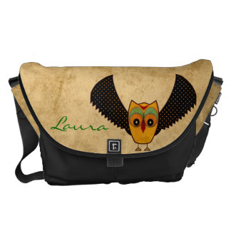 Andean Owl Courier Bag