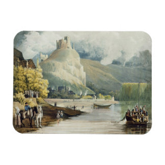 Andely, from 'Views on the Seine', engraved by Tho Flexible Magnet