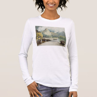 Andely, from 'Views on the Seine', engraved by Tho Long Sleeve T-Shirt