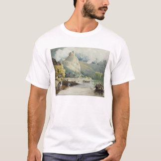Andely, from 'Views on the Seine', engraved by Tho T-Shirt