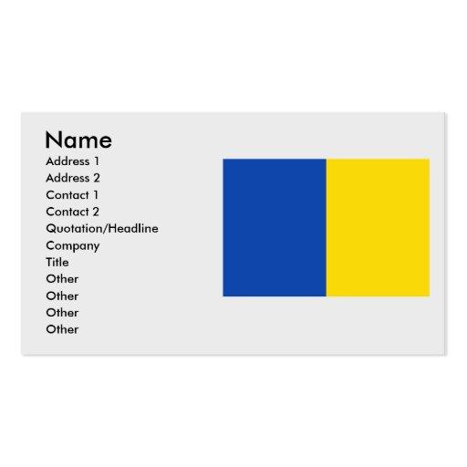 Anderlecht, Belgium Business Cards