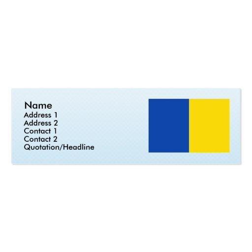Anderlecht, Belgium Business Card Template
