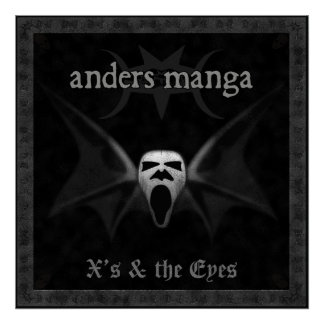 "Anders Manga ""X's & The Eyes"" Poster"