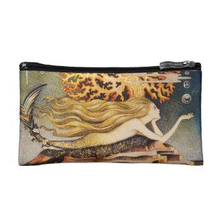 Andersen: Little Mermaid Drawing Makeup Bags