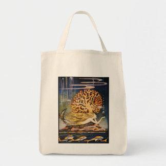 Andersen: Little Mermaid Drawing Tote Bag