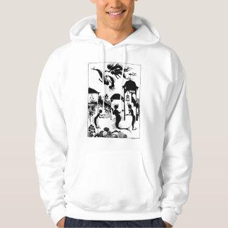 Andersen: Little Mermaid Silhouette Hooded Sweatshirt