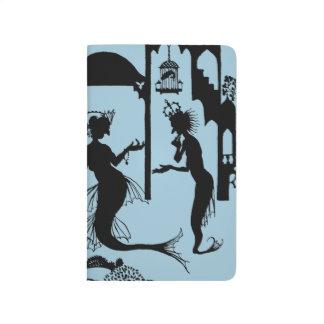 Andersen: Little Mermaid Silhouette Journal