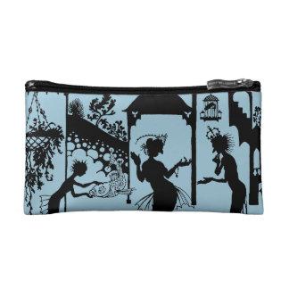 Andersen: Little Mermaid Silhouette Makeup Bags