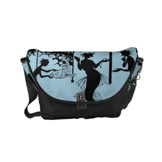 Andersen: Little Mermaid Silhouette Messenger Bag