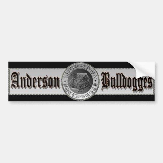 Anderson Bulldogges Bumper Sticker