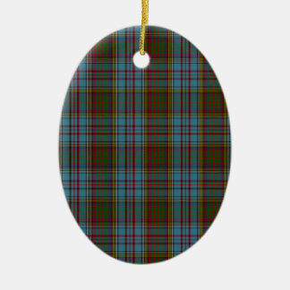 Anderson Clan Family Tartan Christmas Ornament