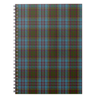 Anderson Clan Family Tartan Notebook