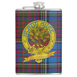 Anderson Clan Liquor-Flask 1a Hip Flask