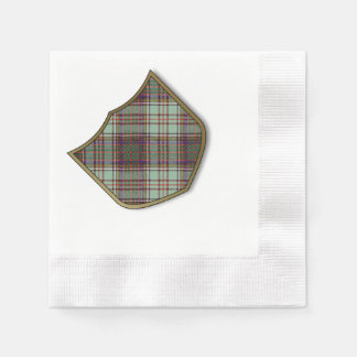 Anderson clan Plaid Scottish tartan Disposable Napkins