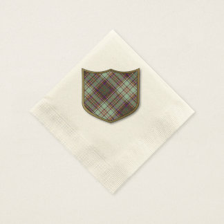 Anderson clan Plaid Scottish tartan Disposable Serviettes