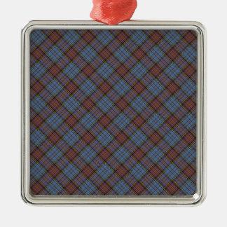 Anderson Clan Tartan Designed Print Christmas Ornament