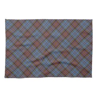 Anderson Clan Tartan Designed Print Tea Towel