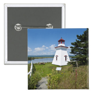 Anderson Hallow Lighthouse in Riverside-Albert, 15 Cm Square Badge