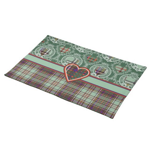 Anderson Scottish Tartan Placemats