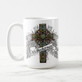Anderson Tartan Cross Coffee Mug