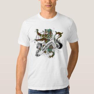 Anderson Tartan Lion T Shirts
