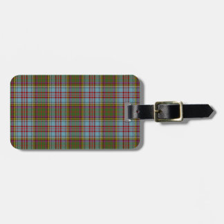 Anderson Tartan Pattern Luggage Tag