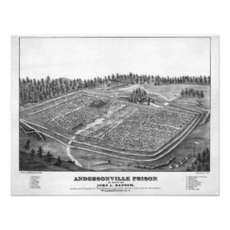Andersonville Prison by John L Ransom Custom Invites