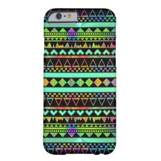 Andes Aztec Tribal Native Geometric Tie Die Neon iPhone 6 Case