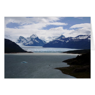 Andes Mountain Range Card