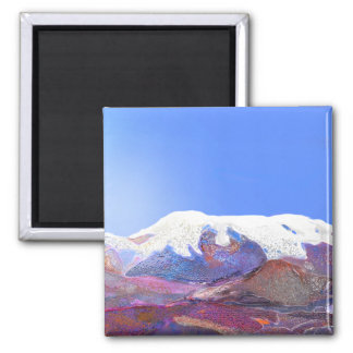 Andes Mountain View Peru #3 Magnet