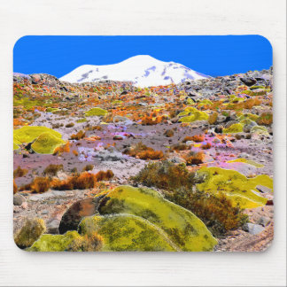 Andes Mountain View Peru Mouse Mat