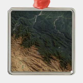 Andes Mountains Christmas Ornament