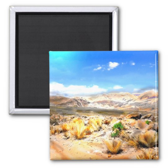 Andes Mountains Peru #3 Magnet