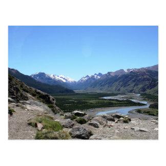 Andes Range, Patagonia Postcard