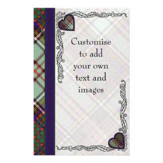 Andison clan Plaid Scottish kilt tartan 14 Cm X 21.5 Cm Flyer