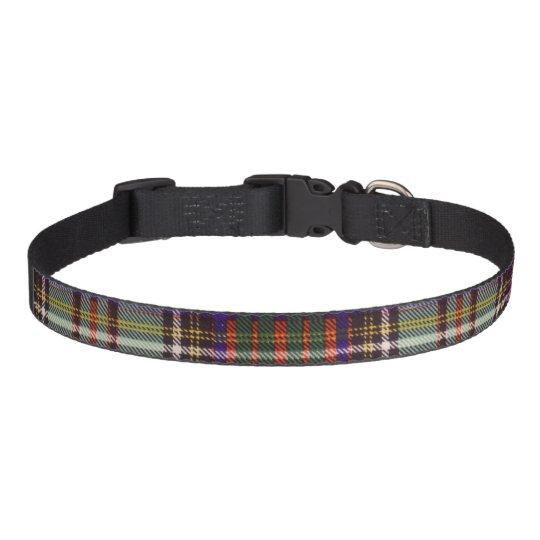 Andison clan Plaid Scottish kilt tartan Pet Collar
