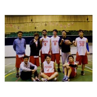 Andong Fever Basketball Postcard