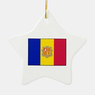 Andorra - Andorran Flag Ornaments