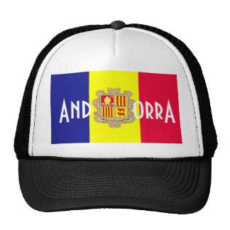 Andorra andorran flag souvenir hat