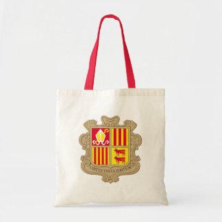 andorra arms tote bag