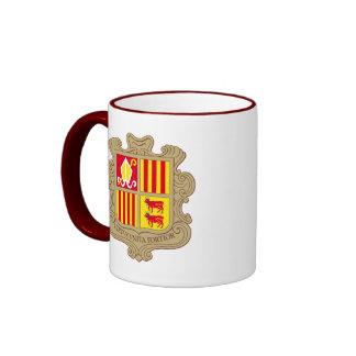 andorra arms ringer mug