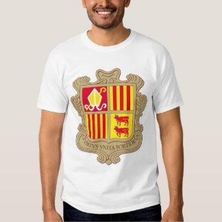 andorra arms tee shirt
